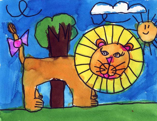 Keana S Lion Art Projects For Kids