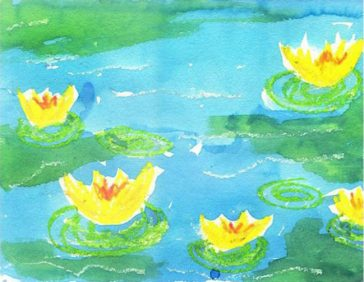 Water Lily Pond, Monet Style