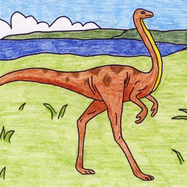 draw an Ornithomimus