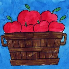 draw apple