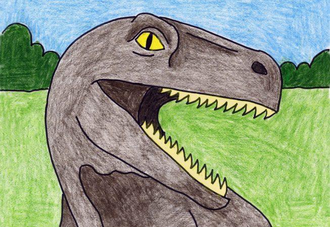 drawing dinosaur