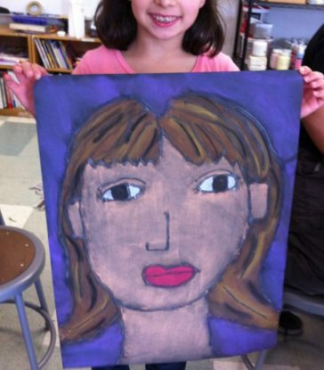 easy chalk pastel art