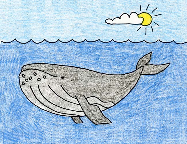 Humpback Whale Art Projects For Kids