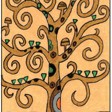 How to Draw a Klimt Tree of Life