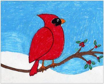 Draw a Cardinal