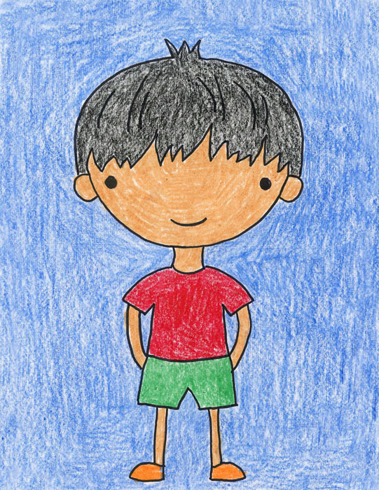 How To Draw Boys Art Projects For Kids