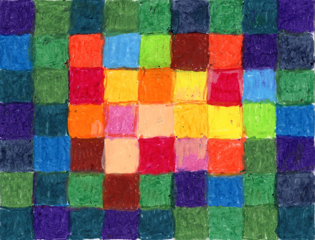 color study paul klee style   art projects for kids