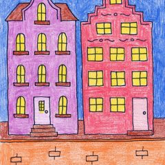draw buildings from Amsterdam