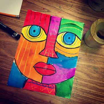 Art Tip: Big, Bold Markers
