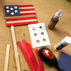 Craft Stick Flag