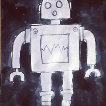 Metallic Robot