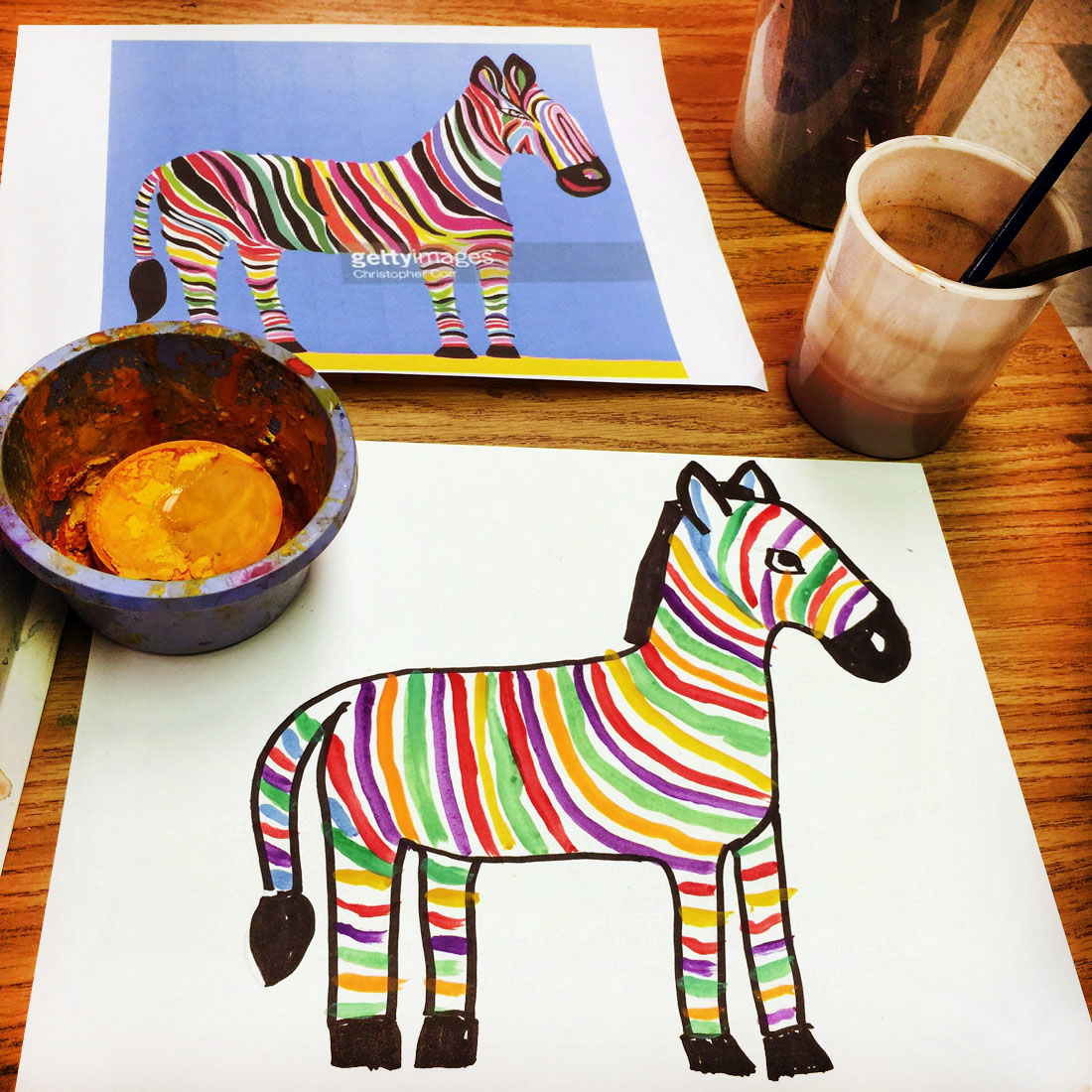 Creative Drawing Ideas For Kids Heres One Idea I Use When Looking New Art Project Searching Stock Sites
