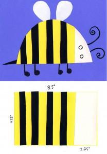 Bumblebee Collage easy dagram