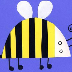 bee art for kids