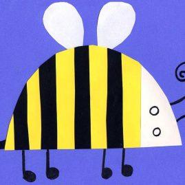 bee art for kids