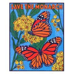 Monarch Mural collaborative art project