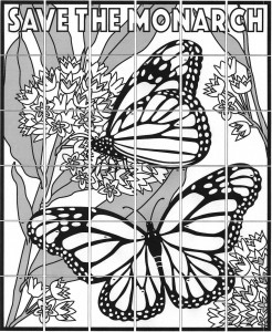 monarch butterfly art project
