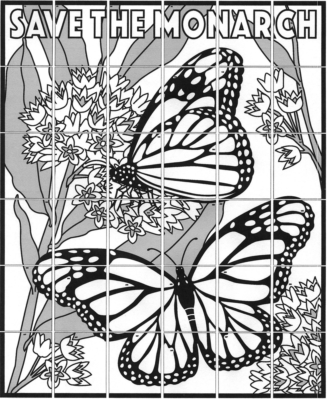 Monarch Mural  U00b7 Art Projects For Kids