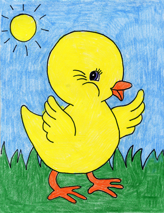 how to draw daffodil art projects for kids