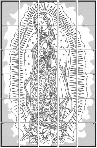 Our Lady of Guadalupe diagram