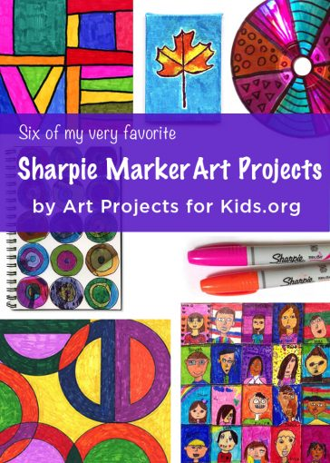 Favorite Sharpie Marker Art Projects