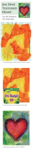 Jim Dine Texture Heart 1