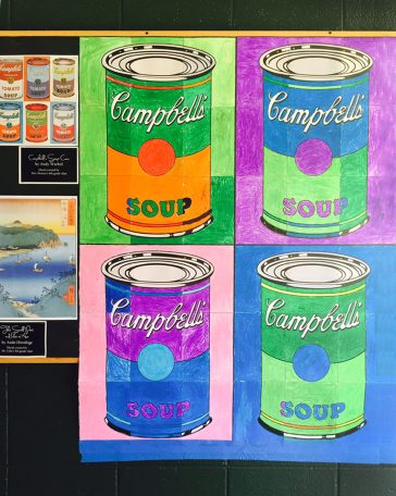 Campbell's Soup Mural from Hawaii