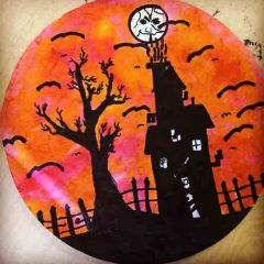 halloween art for kids
