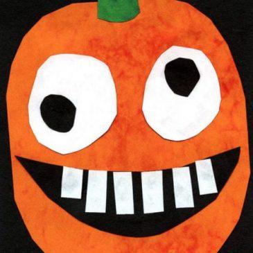 Halloween art lessons for kids