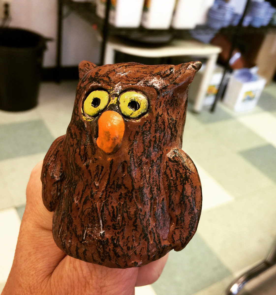 Thumb Owls Art Projects For Kids