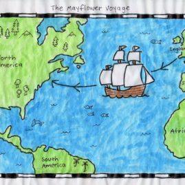 Mayflower art project