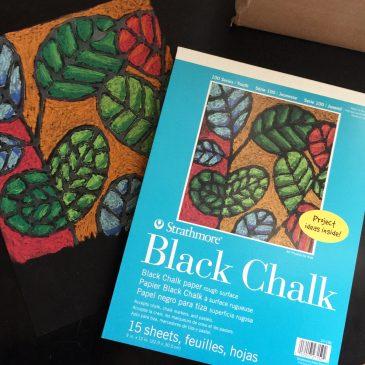 Black Chalk Paper