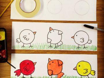 Color Lesson for Kindergarten