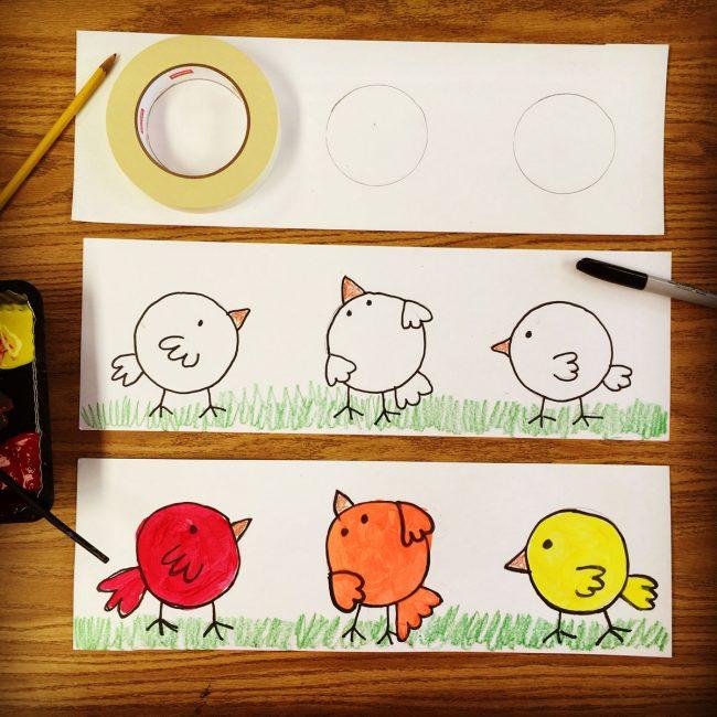 color lesson plans for kindergarten