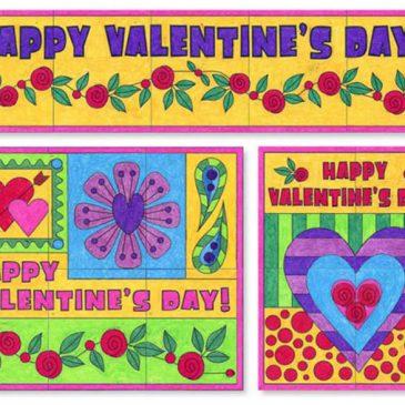Valentine's Day Murals