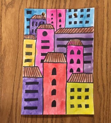 Overlapping Buildings