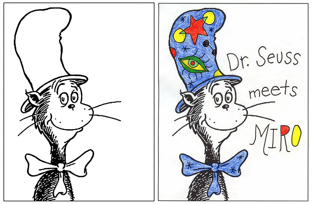 Cat In The Hat Art Project