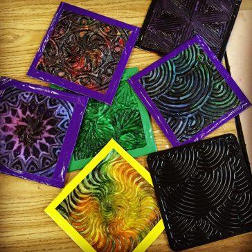 Student's Cast Tissue Tiles