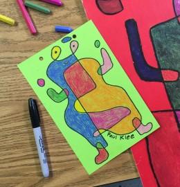 Paul Klee Line Drawing