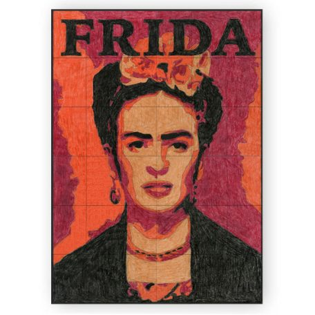 Frida Kahlo collaborative mural