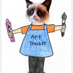 grumpy cat coloring