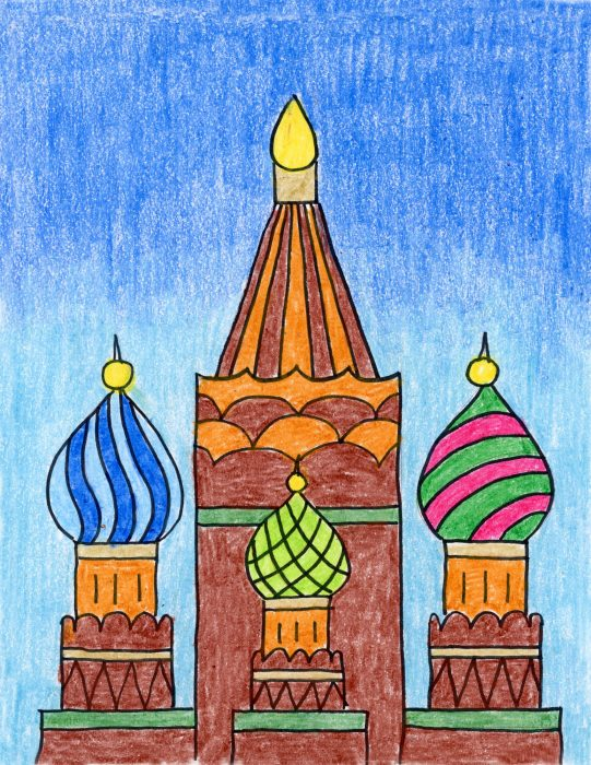 russian craft ideas more russian buildings projects for 2860