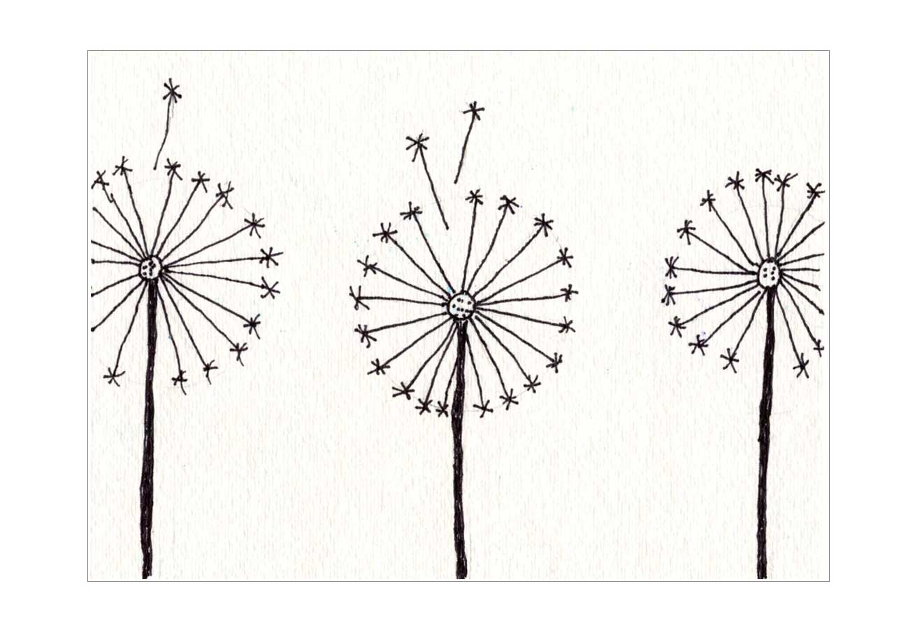 Dandelion Painting - Art Projects for Kids