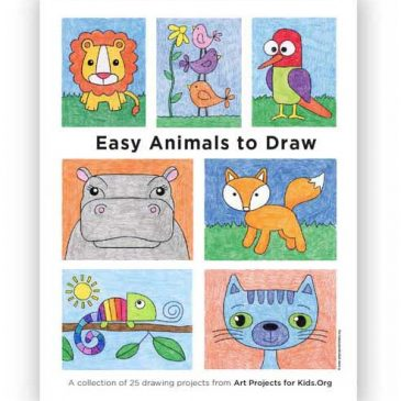 """""""Easy Animals to Draw"""" eBook"""