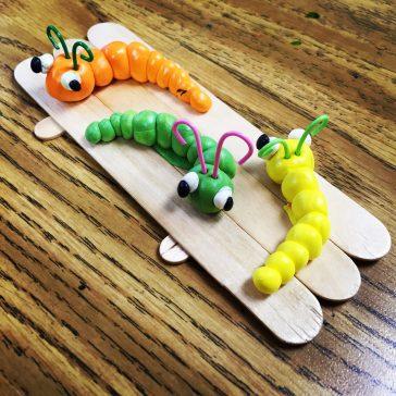 Model Magic worms
