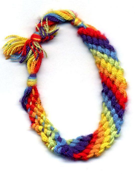 Friendship Bracelet Art Projects For Kids