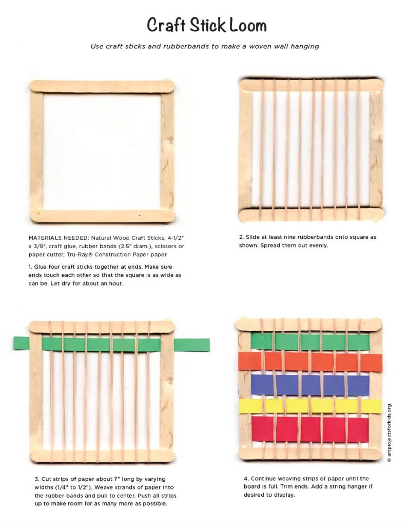 easy weaving projects