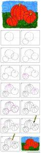 how-to-draw-a-pumpkin-diagram