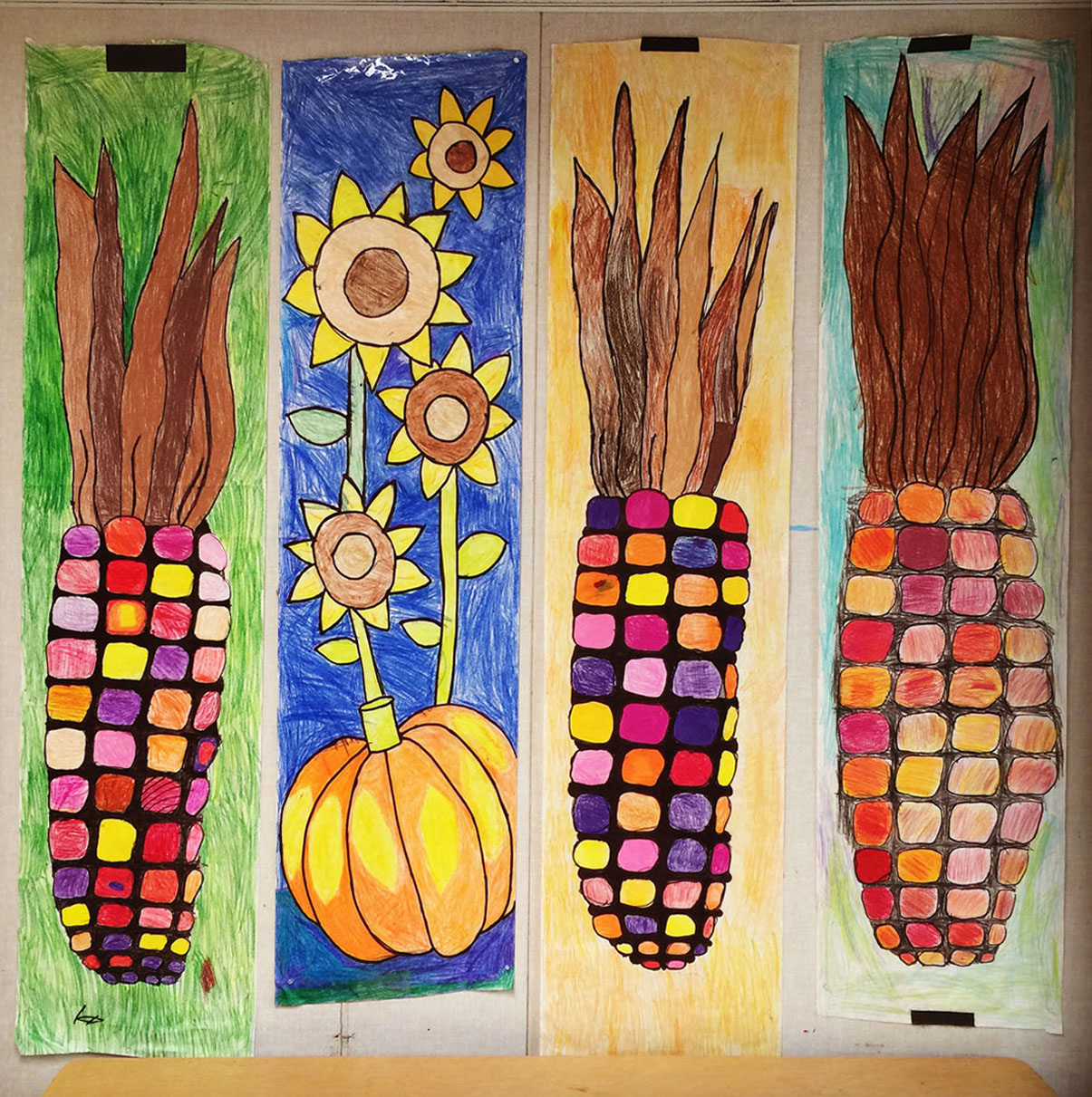 Fall festival banners art projects for kids for Arts and crafts for middle school