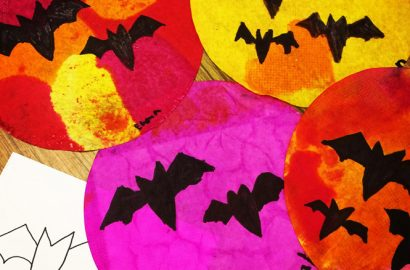 halloween art lesson plans